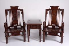 стародедовская китайская мебель Стоковая Фотография