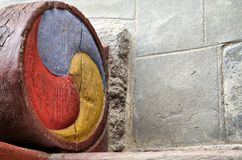 стародедовская корейская картина tricolor Стоковое Изображение RF