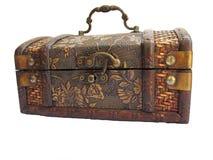 стародедовская коробка деревянная Стоковая Фотография