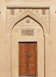 стародедовская красивейшая верхняя часть двери конструкции Стоковое Фото