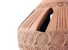 стародедовская необыкновенная ваза Стоковое Изображение