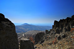 стародедовская обсерватория kokino Стоковые Изображения RF