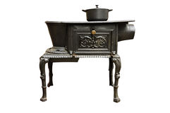 стародедовская печка кухни стоковые фотографии rf