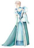 стародедовская повелительница платья Стоковые Фото