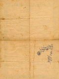 Стародедовская постаретая бумага с предпосылкой номеров Стоковое Фото