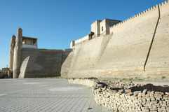 стародедовская работа восстановления крепости Стоковые Фотографии RF