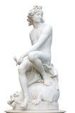 стародедовская римская статуя Стоковые Изображения RF