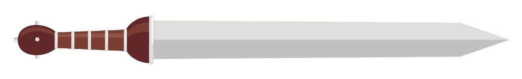 стародедовская римская шпага Стоковое Изображение