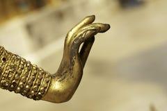 стародедовская рука золота Стоковые Изображения