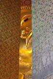 стародедовская спрятанная сторона глаза контакта Будды Стоковые Изображения RF