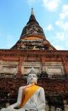стародедовская статуя города Будды предпосылки тайская Стоковые Изображения RF