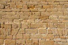 Стародедовская текстура кирпичной стены стоковое фото