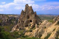 стародедовская церковь подземелья cappadocia Стоковое Изображение