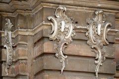 стародедовская часть здания Стоковые Фото