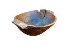 стародедовская handmade изолированная старая плита деревянная Стоковая Фотография RF
