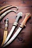 стародедовские аравийские кинжалы Стоковое Изображение RF