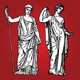 стародедовские богини иллюстрация штока