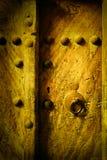 Стародедовские двери стоковое изображение rf