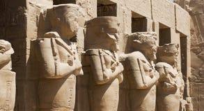 стародедовские египетские статуи Стоковое фото RF