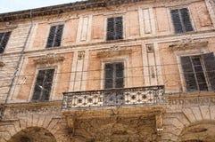 Стародедовские здания в болонья Италии Стоковые Фотографии RF