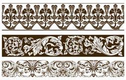 стародедовские знамена изгибают вегетативный сбор винограда 3 иллюстрация вектора