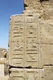 Стародедовские иероглифы Египета Стоковые Изображения