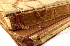 Стародедовские книги Стоковые Фото