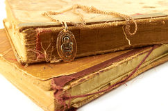 Стародедовские книги Стоковые Изображения RF
