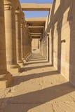 стародедовские колонки Египет колоннады Стоковые Фото
