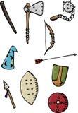 стародедовские оружия I Стоковые Изображения