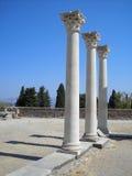 стародедовские руины Греции ванны Стоковые Изображения