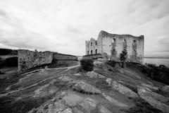 Стародедовские руины шведского языка. стоковые фото