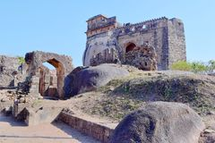 стародедовские руины Стоковые Изображения RF