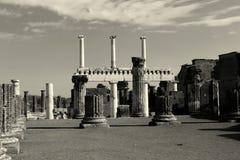 стародедовские руины pompeii Стоковые Фото
