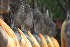Стародедовские статуи Будды Стоковые Изображения