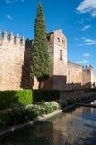 Стародедовские стены в cordoba, Испании стоковое фото