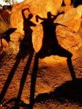 стародедовские тени Стоковое Фото