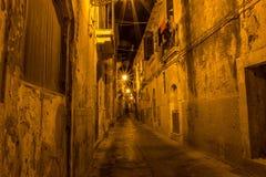 стародедовские улицы syracuse стоковое изображение
