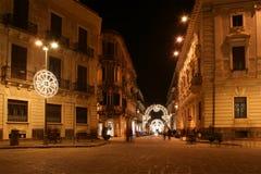 стародедовские улицы syracuse siracusa sarausa стоковое изображение