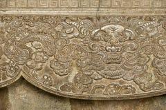 стародедовские carvings въетнамские стоковые фото