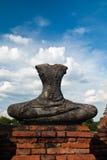 стародедовский Будда Таиланд Стоковое Изображение RF