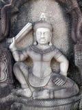 Стародедовский буддийский висок khmer Стоковые Изображения RF