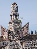 Стародедовский буддийский висок khmer Стоковое Изображение RF