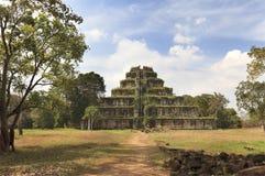 стародедовский висок пирамидки koh khmer kher Стоковые Фото