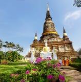 стародедовский висок Таиланд Стоковые Фотографии RF