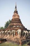 стародедовский висок тайский стоковое изображение