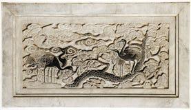 стародедовский высекая камень стоковая фотография rf