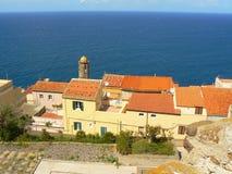 стародедовский городок Сардинии castelsardo Стоковое Фото