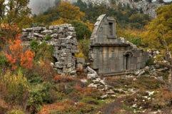 Стародедовский город Termessos Стоковые Изображения