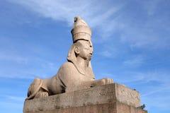 стародедовский египетский сфинкс Стоковое Изображение